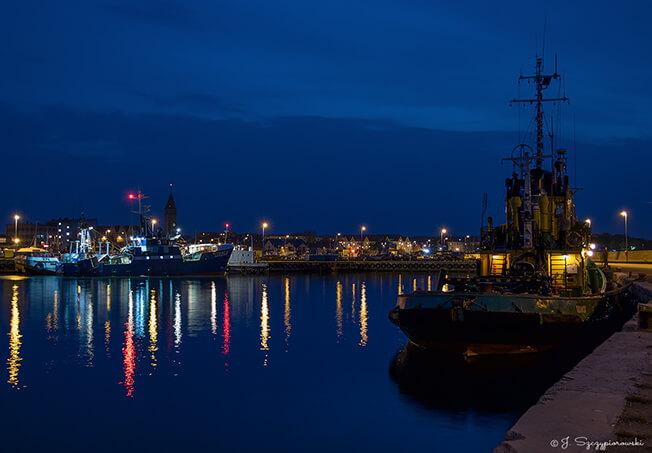 Port nocą we Władysławowie, fot.25